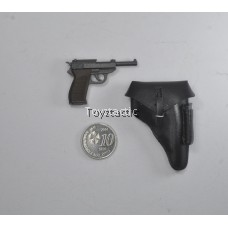 Alert Line AL100016B - WWII SS Officer - P38 Pistol with Cover Holster