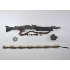 Alert Line AL100016A - WW11 German SS MG42 Gunner - MG42 Machine Gun