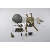 DAMTOYS 78044A - FBI SWAT Team Agent - San Diego - Sentry Ballistic Helmet set