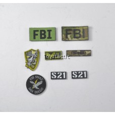 DAMTOYS 78044A - FBI SWAT Team Agent - San Diego - Patches
