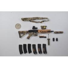 DAMTOYS 78040 - DEVGRU K9 Handler in Afghanistan - HK416D Rifle set