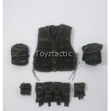 DAMTOYS 78052 - Chinese People's Armed Police Force Snow Leopard Commando Unit - Type 13 Tactical Vest Set