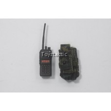 DAMTOYS 78052 - Chinese People's Armed Police Force Snow Leopard Commando Unit - Walkie Talkie with Pouch