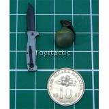 E&S 26007 'Dam Neck' - CQC-12 Pocket Knife & Grenade