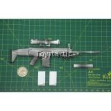 Mini Times Toys - M011 - US Navy SEAL Winter Combat Training - MK17 Sniper Rifle Set