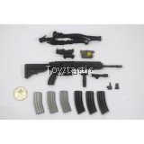 DAMTOYS 78051 - Naval Mountain Warfare Special Forces - HK416 Rifle Set