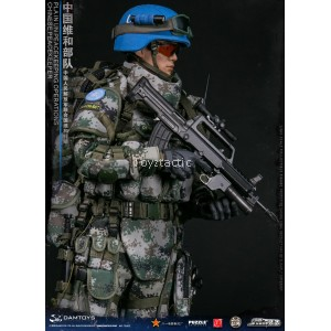 DAMTOYS 78062 - Chinese Peacekeeper PLA in UN Peacekeeping Operations