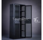 VSTOYS 18XG34A 1/6 Metal weapon cabinet locker (Black)
