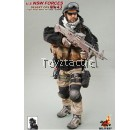 Hot Toys 1/6 U.S. NSW Forces Desert Ops Mk43 Mod1 Gunner (Tiger Stripe BDU Version)