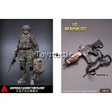 COMBO DEAL - ARMSHEAD 1/6 AOR 2 SEAL Player Add On Set with Minitimes HK416-A