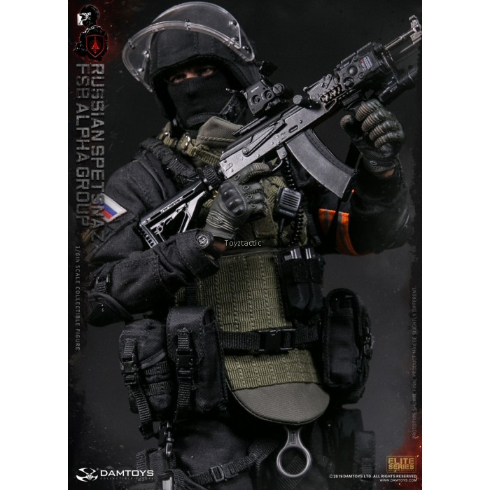 DAMTOYS 78064 1/6 Russian Spetsnaz FSB Alpha Action Group