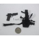 Flagset 73014 - 1/6 75th Ranger Regiment Reconnaissance Team in Afghanistan - 1911 Pistol with Holster