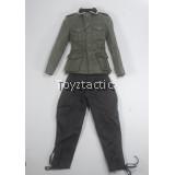 DID D80133 1/6 WWII German Communication 3 WH Radio Operator - German Officer Uniform Set