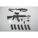 DAMTOYS 78058 - 1/6 Russian Spetsnaz MVD - SOBR LYNX - AK-74M Rifle Set