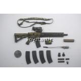 "Easy & Simple 26020R Tier 1 SMU Part V CAG Assault Team Breacher - 14"" HK416 5.56mm SMR Assault Rifle set"