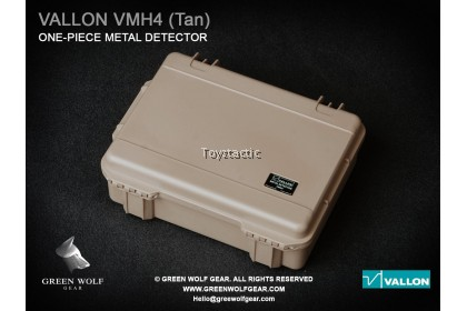 GreenWolfGear GWG-010(A) 1/6 Scale Vallon VMH 4 Compact with Hard Case (TAN)