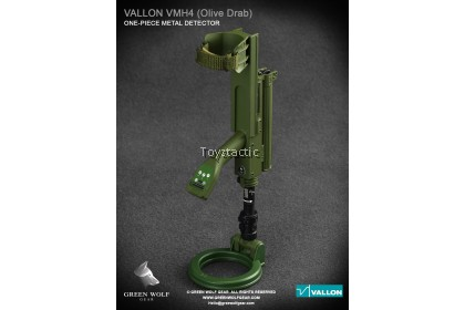 GreenWolfGear GWG-010(B) 1/6 Scale Vallon VMH 4 Compact with Hard Case (Olive Drab)