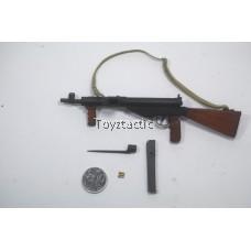 DID K80135 British 1st Airborne Division (Red Devils) Commander Roy WWII - Sten Gun