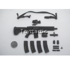 """Easy & Simple 26028 - LAPD Special Weapon and Tactical S.W.A.T - HK416 10"""" Inch Barrel Rifle Set"""