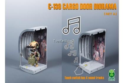Figurebase Trickyman C-130 Cargo Door Diorama Set A