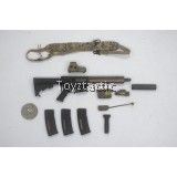 DAMTOYS 78060 1/6 DECADE NAVY SEAL 2003-2013 - MK18 Mod1 Carbine Set