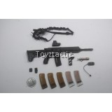 Mini Times Toys MT-M014F CIA Armed Agents - HK416 Rifle Set