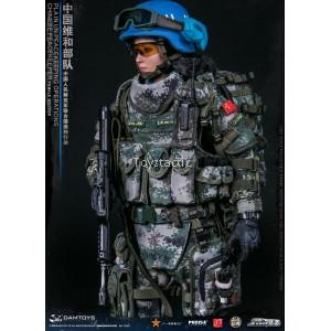 DAMTOYS 78067 1/6 PLA UN Peacekeeping Operations - Female Peacekeeper