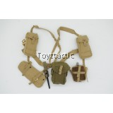DID K80136 British 1st Airborne Division (Red Devils) Sergeant Charlie - Webbing with Pouches & Canteen (Weathered Version)