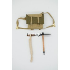 DID K80136 British 1st Airborne Division (Red Devils) Sergeant Charlie - Backpack with Pick & Rope (Weathered Version)
