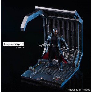 TWTOYS TW1908 1/12 - Garage Space Capsule Scene Platform Unlimited Expansion Series