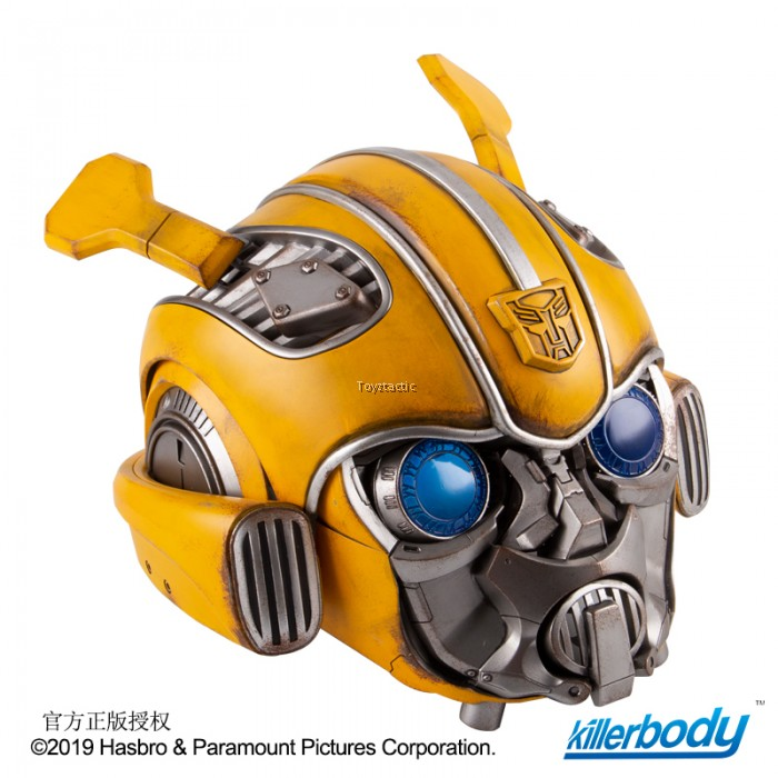 Killerbody KB20069-12 - Transformer Series Bumblebee Wearable Helmet with  Light & Sound