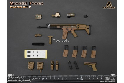 Easy & Simple 06020 1/6 Special Force Weapon Set B
