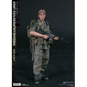DAMTOYS 1/12 POCKET ELITE SERIES  ARMY 25th Infantry Division Private SERGEANT