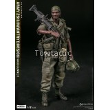 DAMTOYS 1/12 POCKET ELITE SERIES  ARMY 25th Infantry Division M60 Gunner