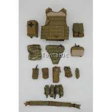 Easy & Simple 26005 Commonwealth Special Force - Releasable Modular Vest with Pouches Set