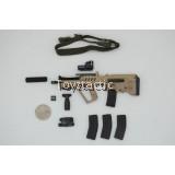FLAGSET FS-73017 - 1/6 Israel Special Force Sayeret Matkal - TAR 21 Assault Rifle Set