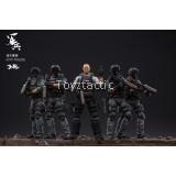 JOYTOY 1/18 JTUS006 Urban Police Riot Prevention Police Force (Set of 5)