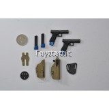 Easy & Simple 26016 - PMC Urban Operation Assaulter 2 - Viking - G17 Pistol with Holster Set