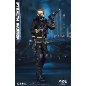 CBI  AD.2050.I 1/6 Banshee Stealth Warrior - Dark Version