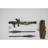 DID I80112 1/6 The Soviet-Afghan War 1980s Afghanistan Civilian Fighter - Abazz - RPG-7 with Warheads