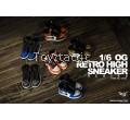 ONESIX-VERSE TOYS 1:6 OG Retro High Sneaker Serise OS02