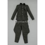 DID D80138 1/6 WWII German Battle of Stalingrad 1942 Major Erwin König 10th Anniversary Edition - M36 Uniform with Green Breeches