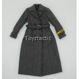 DID D80103 1/6 WWII German Nachrichtenhelferinnen Des Heeres - Sophie - Female Grey Overcoat