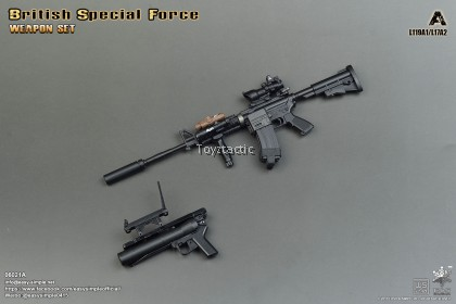 Easy & Simple 06021A British Special Force Weapon Set A - L119A1 / L17A2