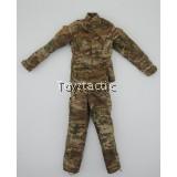 DAMTOYS 78066 1/6 RUSSIAN SPETSNAZ MVD SOBR - BULAT MOSCOW - MVD SOBR Multicam Combat Shirt & Pants