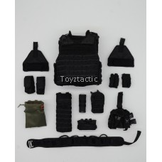 DID MA1008 1/6 LAPD SWAT 3.0 'Takeshi Yamada' - PT TAC-6 PLUS HP FULL COVERAGE TACTICAL VEST