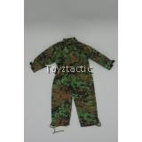 TOYS CITY 1/6 WWII German Waffen SS Oak Leaf Spring Pattern Jumpsuit