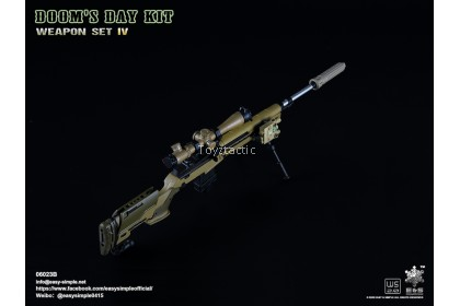 Easy & Simple 06023 1/6 Doom's Day Kit Weapon Set IV - Sand M1A1 Rifle