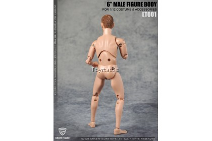 Crazy Figure LT001 1/12 Male Body with Neck