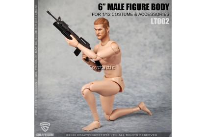 Crazy Figure LT0021/12 Male Body without Neck